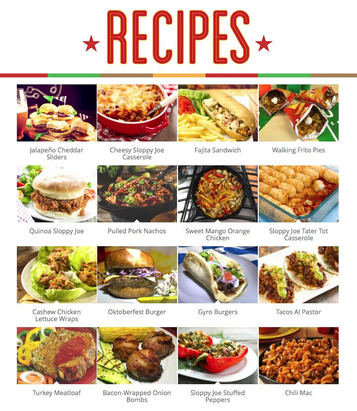 Chili's® Sauces At Home Recipes