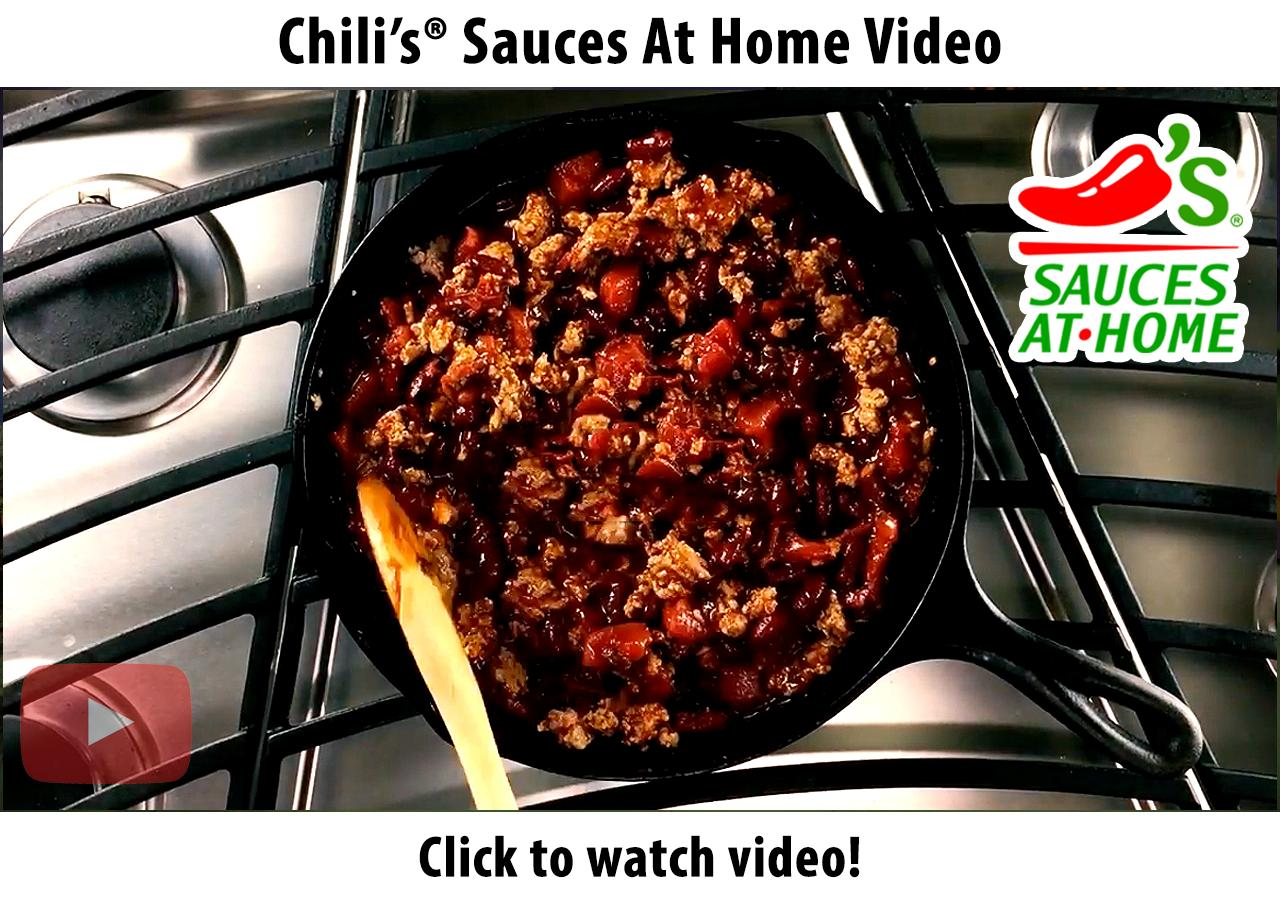 Chili's® Sauces At Home Cooking Video
