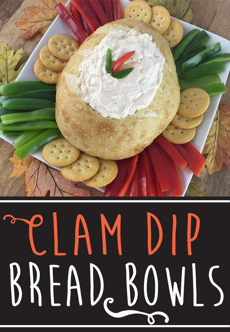 Salads of the Sea® Clam Dip Bread Bowl